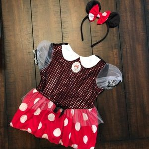 NWT Minnie Mouse Costume ♥️ 12-18months